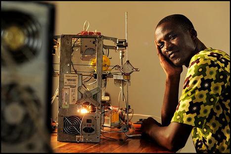 En Afrique, une imprimante 3D à base de déchets | 694028 | Scoop.it