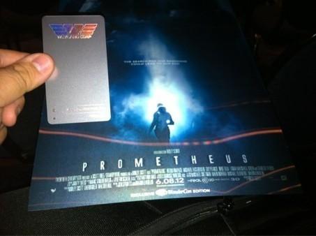 WonderCon 2012: 'Prometheus' New Trailer, Viral Video & Weyland Business Card | Geeks of Doom | Tracking Transmedia | Scoop.it