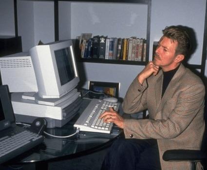 David Bowie avait lancé son propre FAI et anticipait la mort du copyright - Pop culture - Numerama | Paper Rock | Scoop.it