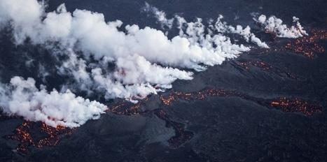 Pollution : des poussières du volcan Bardabunga au-dessus de nos têtes   Echos de sciences   Scoop.it