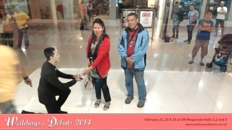 Mall-goers Get Wedding Proposals From Augmented Reality Groom | AR | Scoop.it