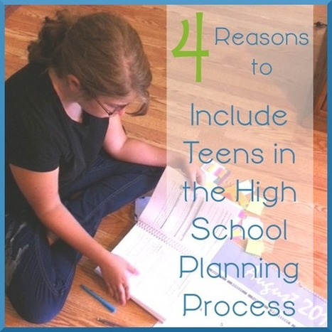 4 Reasons You Must Include Teens in the High School Planning Process | Jewish Education | Scoop.it