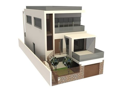 3D Residential House Model | Architecture Engineering & Construction (AEC) | Scoop.it