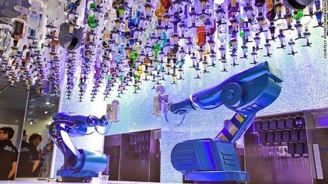 Skydiving and robot bartenders: The world's 'most hi-tech' cruise ship | Holding alcohol advertising and marketing accountable for targeting the underage and addicted | Scoop.it