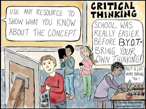 Critical Thinking for Personalized Learning | Teachning, Learning and Develpoing with Technology | Scoop.it