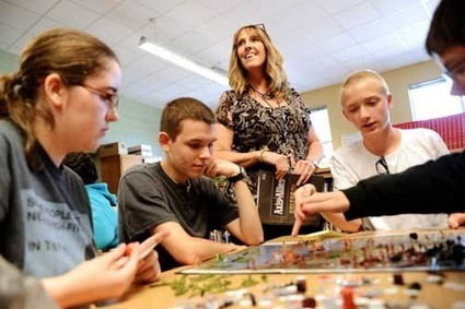 King George High library is an 'active and lively' place | School Library Advocacy | Scoop.it