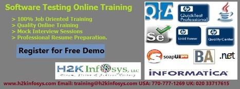 QA Online Training with Job Placement | QA Online Training with Placement | Scoop.it