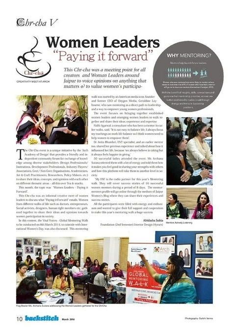 Women Leaders – Paying it Forward | Interior Designing Courses | Scoop.it