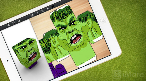 Foldify lets you craft folded paper art... right from your iPad | From the Apple Orchard | Scoop.it