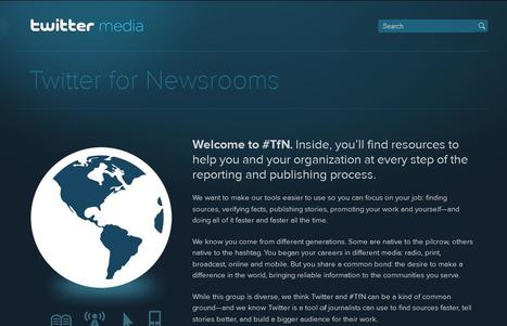 Twitter for Newsrooms – Twitter Media | Top sites for journalists | Scoop.it