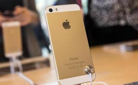 C'est la ruée vers l'iPhone 5S doré - 20minutes.fr   iphone 5S   Scoop.it