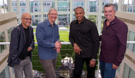 Apple pushing music labels to kill free Spotify streaming ahead of Beats relaunch | New Music Industry | Scoop.it