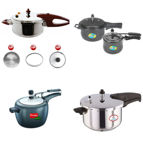 Cookers Online: Buy Aluminium & Stainless Steel Cooker in India | Kitchenware Products | Scoop.it