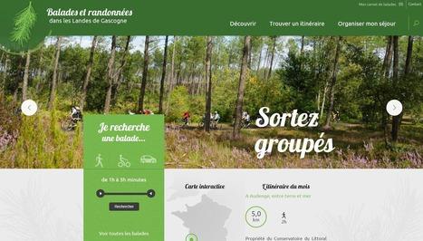 Rando : le nouveau site des Landes de Gascogne - Etourisme.info | Accueil Touristique Numérique | Scoop.it