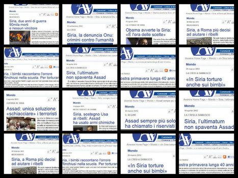 Avvenire: intervista a De Mistura senza toccare i punti cruciali.   VIETATO PARLARE   Notizie dalla Siria   Scoop.it