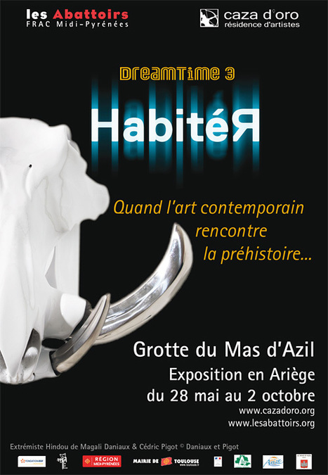 "les Abattoirs - ""HabitéR"" à la Grotte du Mas d'Azil (09) 