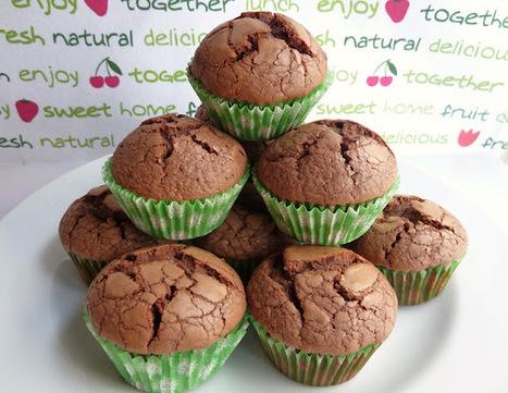 Feliz día! :MUFFINS DE NUTELLA súper fáciles de hacer! | Gluten free! | Scoop.it