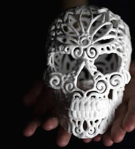 3D Printed Sugar   RP   Scoop.it