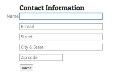 Making Infield Form Labels Suck Less | Web Design | Graphic Design | Developement | Scoop.it