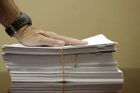 Peut-on détruire les originaux papier ? | Orangeade | Scoop.it
