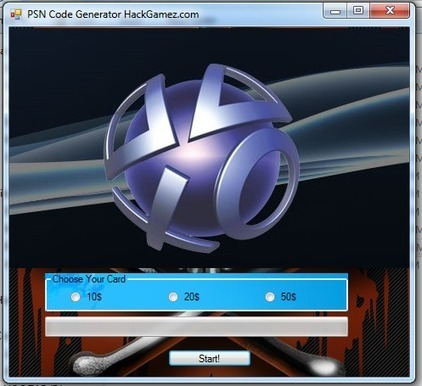 PSN Code Generator - Get Free PSN Code Now! | Free tool hacks | Scoop.it