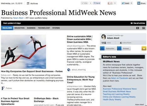"""June 13 - """"Business Professional MidWeek News"""" is out 