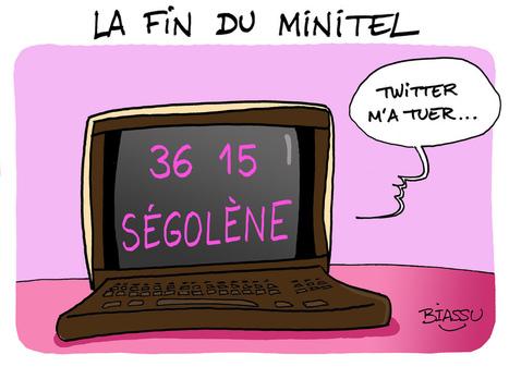 Ségolène et la fin du minitel | | LYFtv - Lyon | Scoop.it