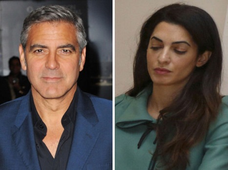 George Clooney engaged? Hollywood heart-throb has fallen for Amal Alamuddin's mind and beauty | News Pop | Scoop.it