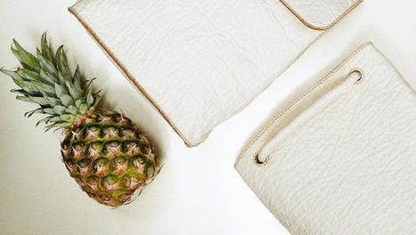"Gorgeous, Sustainable ""Leather"" Is Made From Pineapple Waste 