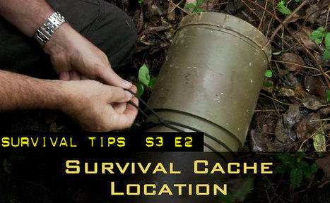 Basic Self-Reliance Series: How to Choose a Survival Cache Location | BOB to BOL by BOV | Scoop.it