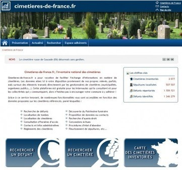 Le plus grand cimetière virtuel de France - MyHeritage.fr - Blog francophone | Rhit Genealogie | Scoop.it