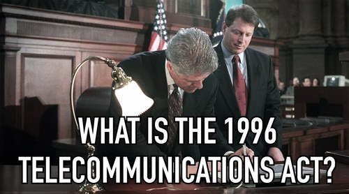 What is The 1996 Telecommunications Act? (Inbox…