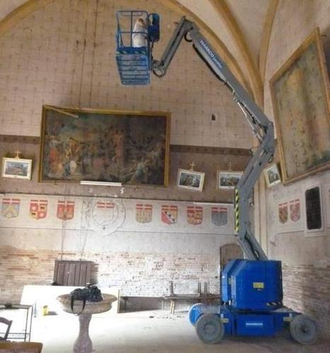 L'église révèle des fresques du XVIe siècle | Garidech | Scoop.it
