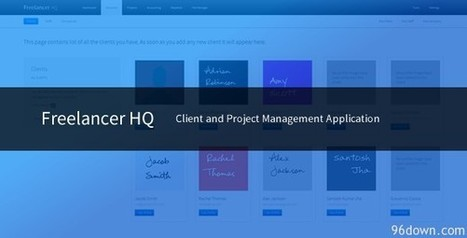Freelancer HQ v1.0 Client and Project Management App | Download Free Full Scripts | Wow wat a place | Scoop.it