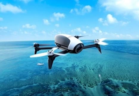Parrot officialise son drone Bebop 2 avec 25 min d'autonomie | Geeks | Scoop.it