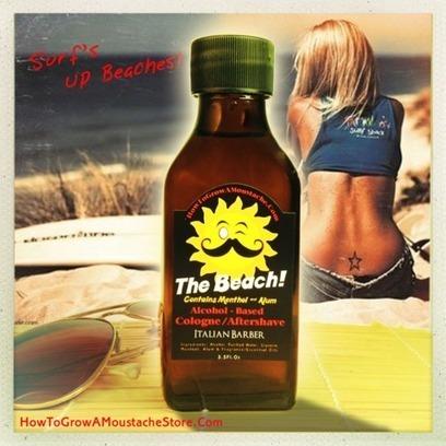 HowToGrowAMoustacheStore — The Beach Cologne / Aftershave - w/ Alum & Menthol | Wet Shaving | Scoop.it