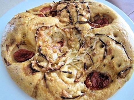 Tomato and Onion Focaccia   Best Easy Recipes   Scoop.it