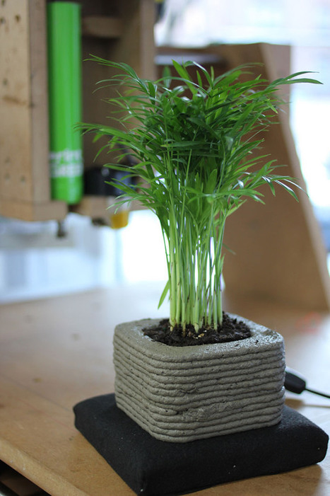 3D Grass Printer Lets You Produce Creative Gardens in Any Shape You Want | Communication design | Scoop.it