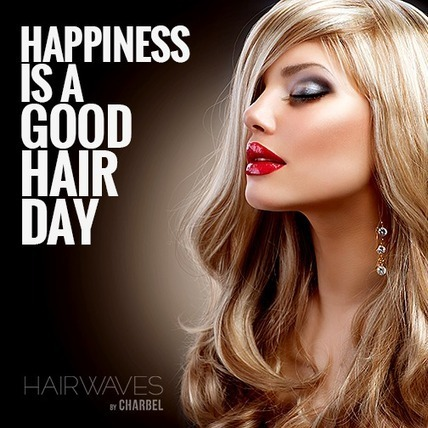 Happiness is a good hair day | Fashion in UAE | Scoop.it