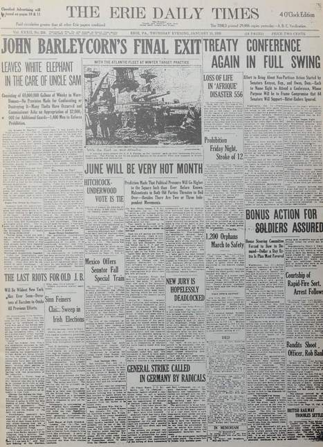 Follow our 125 years in Erie history: 1920 - Women can vote - GoErie.com | 1920's and 1930's | Scoop.it