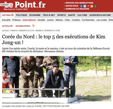 La Corée du Nord, pays de tous les fantasmes médiatiques | DocPresseESJ | Scoop.it