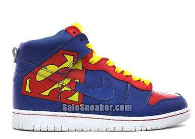 Superman Nike dunk sneakers - girlprincess | Captain Ameica Nike Shoes | Scoop.it