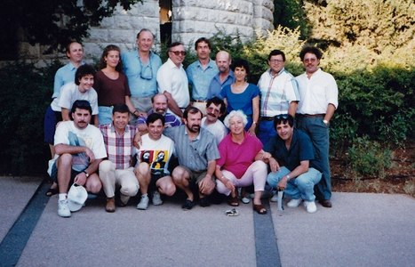 """Celebrating 25 Years of iEARN """"iEARN Assembly Meeting, Israel, 1994"""" 