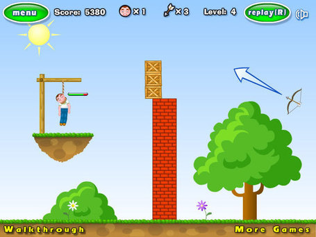 Flying arrows simulation with Box2D - Emanuele Feronato | Everything about Flash | Scoop.it
