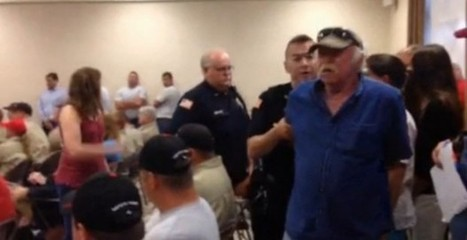 Video: Elderly Veteran Arrested in Middle of County Board Meeting — The Reason Why Is Making Headlines | Cri