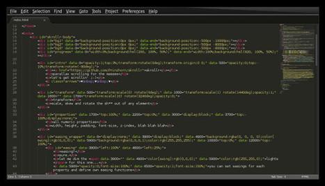 Sublime Text - Éditeur de texte joli et puissant - ressources-editeur | Techniques modernes de création web | Scoop.it