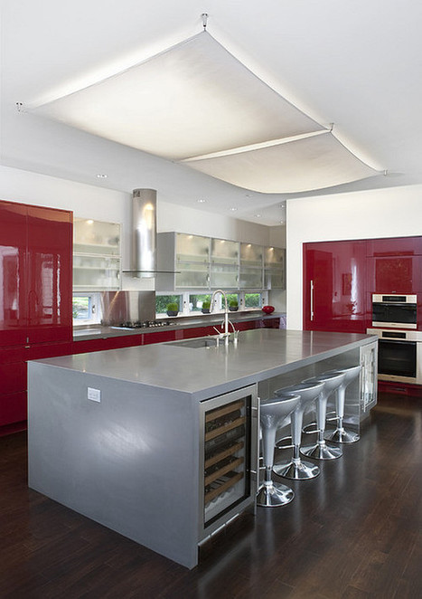 Red Kitchen Design Ideas, Pictures and Inspiration | Art speak | Scoop.it