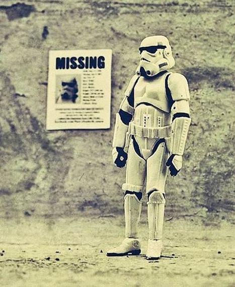 Stormtroopers Family – Stars Wars vu par Leah Minium | Du côté décalé de la Force | Scoop.it