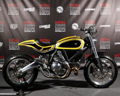 Radikal Chopper Custom Ducati Scrambler - ResCogs | Ductalk Ducati News | Scoop.it