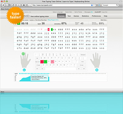 TypingWeb.com - The Web's Most Popular Typing Tutor | 21st Century Literacy and Learning | Scoop.it